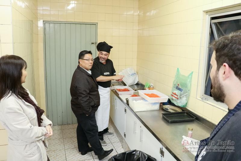 Chef Marc Maeda e Chef Fernando Corsi