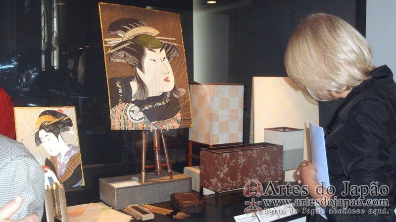 Papel Adesivo De Moveis ~ Multiplicidade e riqueza do Artesanato Japon u00eas no MHN Artes do Jap u00e3o