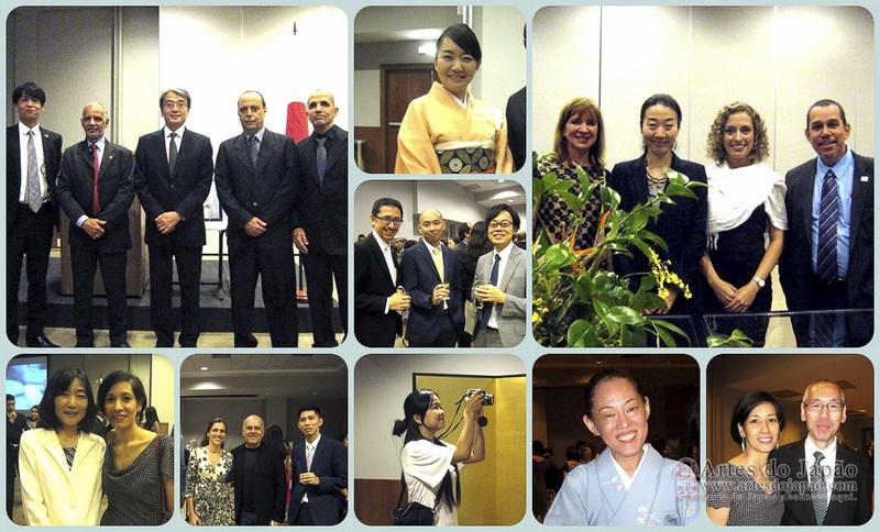 Membros do corpo consular do Japão. (Foto: Teruko Okagawa Monteiro)