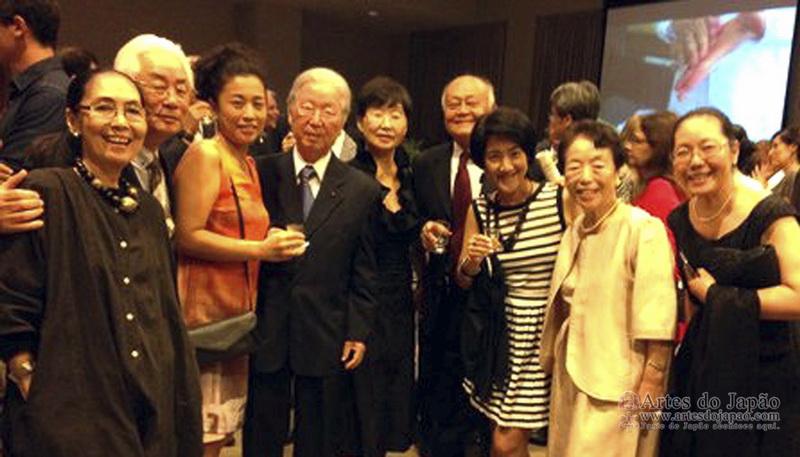 Rio Bikoo-Kai e amigos. (Foto de Takeshi Murakoshi)