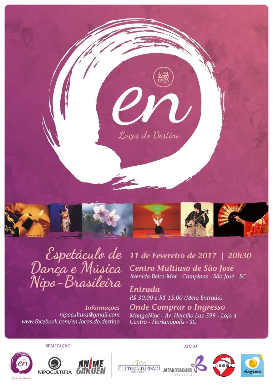 Cartaz do Espetáculo 'En – Laços do Destino'