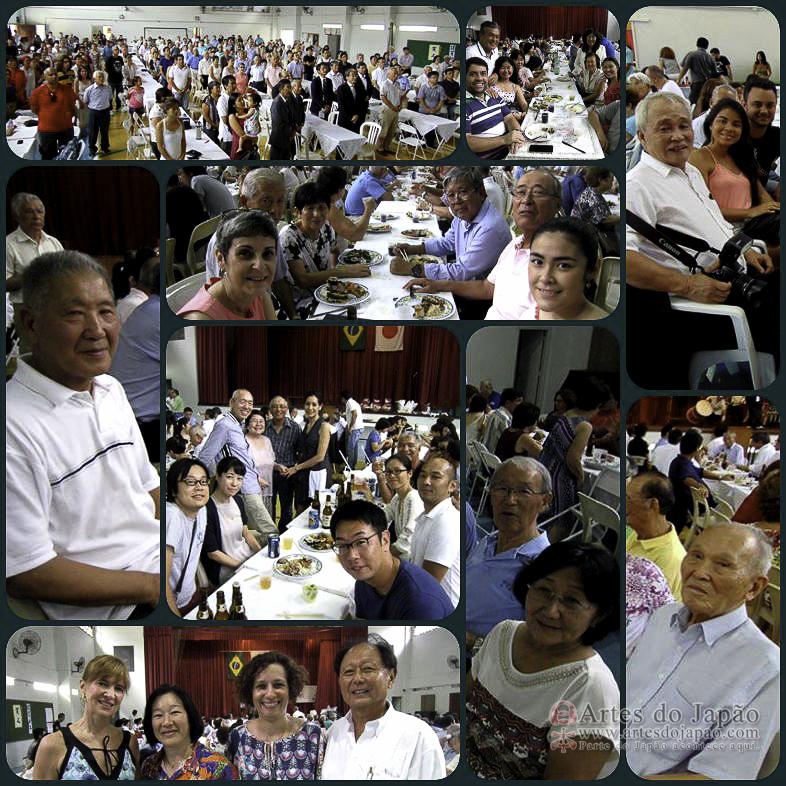 Participantes de muitas instituições.