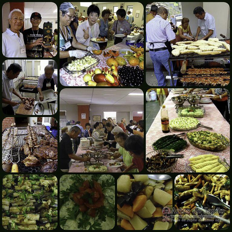 Almoço por Fujinbu e diretores Rio Nikkei.