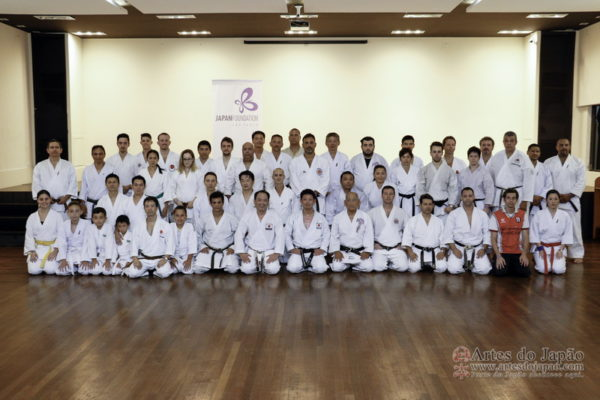 Workshop De Karate-Do Com Senseis Do Japão