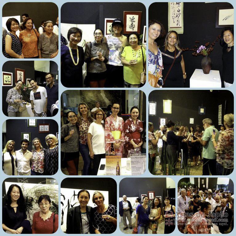 Ilustres presenças. Fotos de Teruko Monteiro