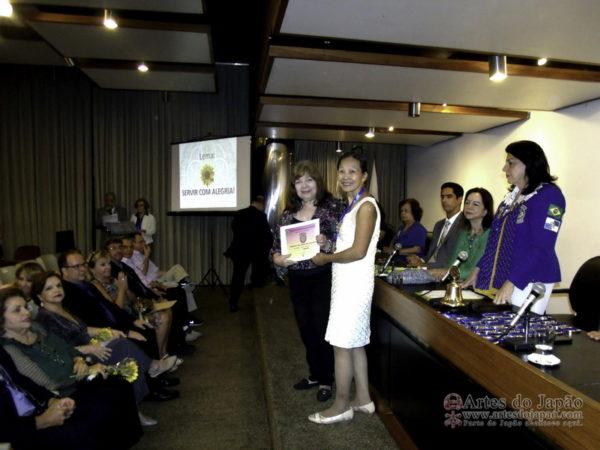 Governadora Marília Simões, Teruko Monteiroe Maria Julia Duarte Lira. Fotos feitas por Tadaharu Isaac Monteiro