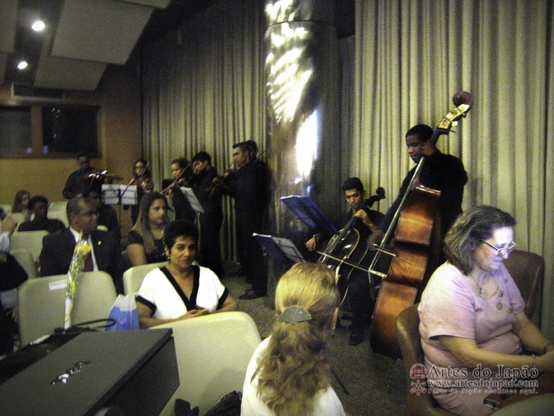 Integrantes da Orquestra Sinfônica Brasileira de Jovens. (Foto feita por Tadaharu Isaac Monteiro)
