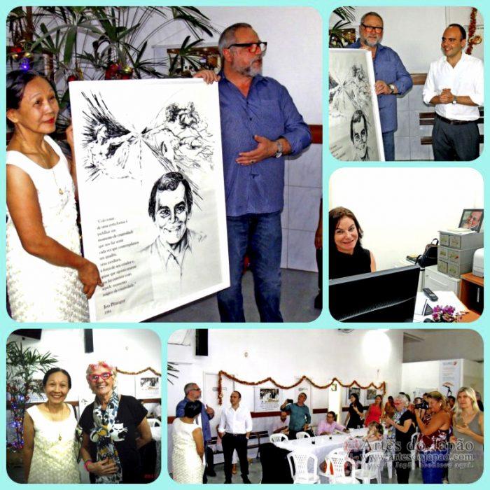 Instituto Ivo Pitanguy recebe quadro.